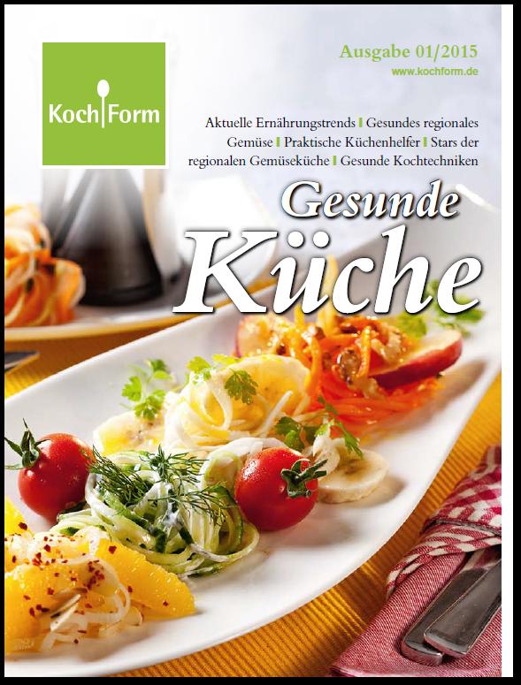 Kochform-Magazin 01/2015 - Titelbild